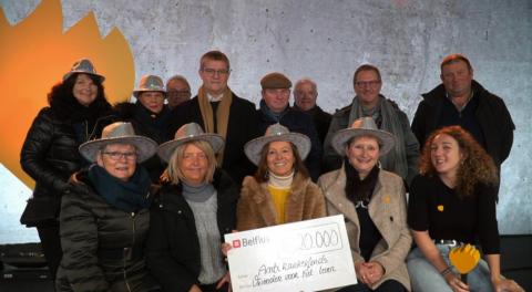 Vrienden van Anzegem for De Warmste Week van Studio Brussel