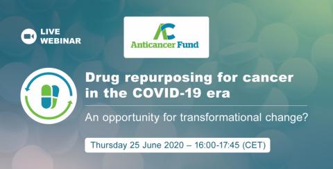Webinar: Drug repurposing for cancer in the covid-19 era