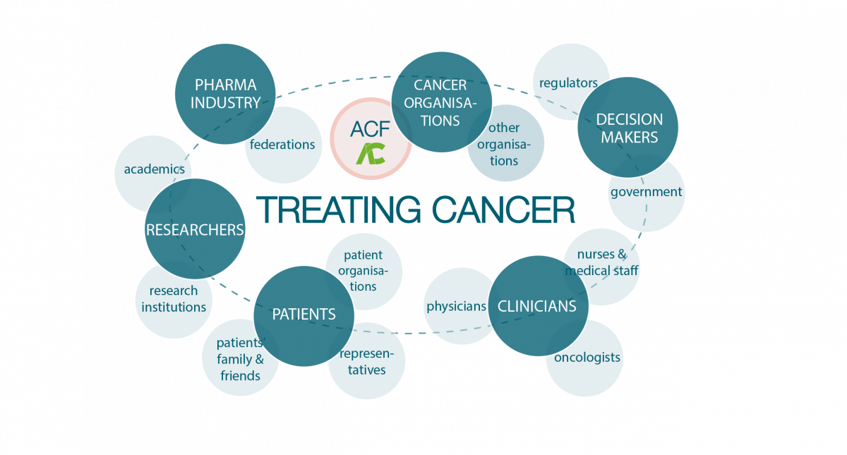 The Anticancer Fund is just a small part of the enormous cancer research ecosystem. We cannot act alone. As an independent non-profit organisation, it is our responsibility to support collaboration and facilitate synergies, as we can do more if we work together.